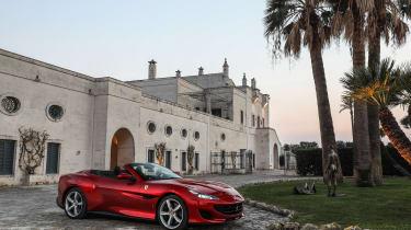 Ferrari Portofino - static