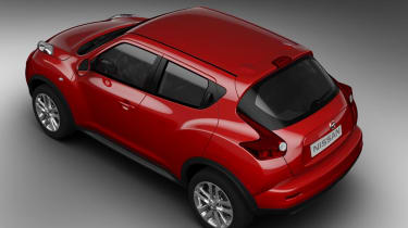 Nissan Juke rear static high