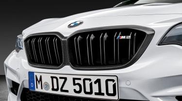 BMW M2 Competition M performance Parts – carbon kidney grille