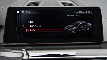 BMW M5 prototype - iDrive