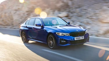 BMW 320d M Sport 2019 tracking