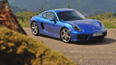 Porsche Cayman GTS front