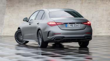 2021 Mercedes C-class revealed - rear