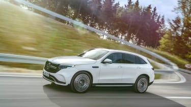 Mercedes EQC AMG-line - front quarter