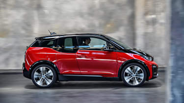BMW i3s - profile static