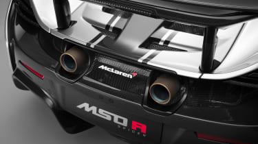 McLaren MSO R - rear