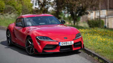 Toyota GR Supra review - front