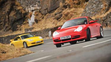 Porsche 996 GT3 drift