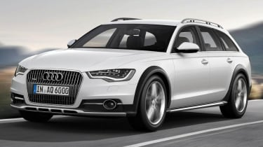 New Audi A6 Allroad action