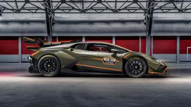 Lamborghini Huracán Super Trofeo Evo 2 – side static