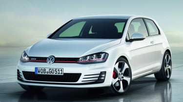 VW Golf GTI revealed at the Paris show