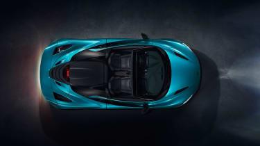 McLaren 720S Spider - top