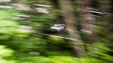 Aston Martin DBS Superleggera drive - green