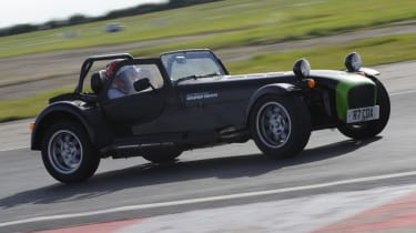 evo dunlop track competition Caterham pan