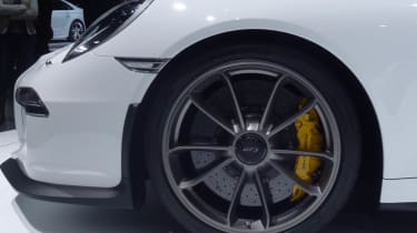 2013 Porsche 911 GT3 centre locking alloy wheel