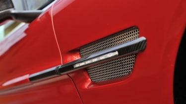 Aston Martin V12 Vanquish carbon fibre vent
