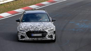 Audi RS6 Avant spied 2019 (body-on) - nose