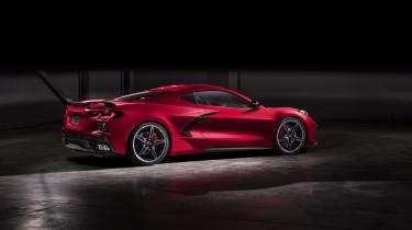 2020 Chevrolet Corvette C8 rear 2