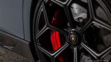 Novitec Lamborghini Aventador SV - wheel detail