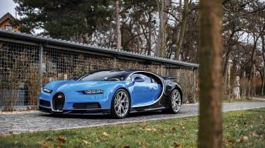 Bugatti Chiron – front quarter