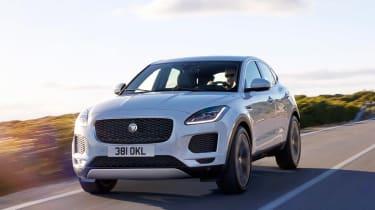 Jaguar E-Pace - white front
