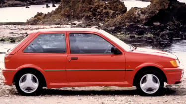 Ford Fiesta RS Turbo: UK's best selling car ever