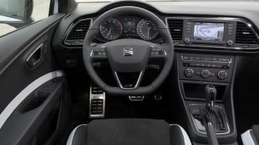 SEAT Leon Cupra 280 review interior