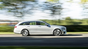 Mercedes E400d Estate review - profile