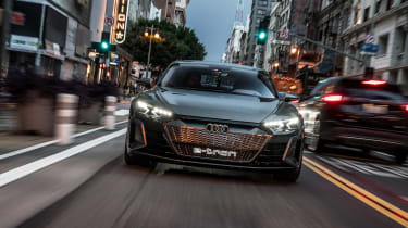 Audi e-tron GT Concept drive - header