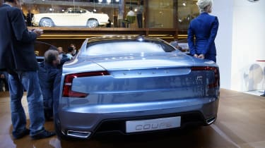 Volvo Coupe concept at the Frankfurt motor show