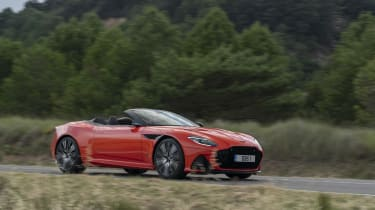 Aston Martin DBS Superleggera Volante side