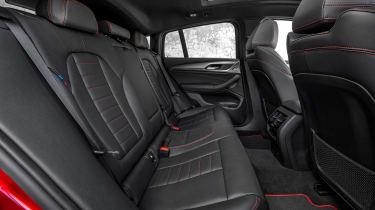 BMW X4 M40d - rear seats