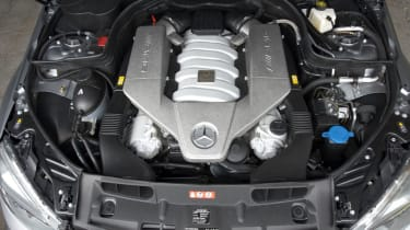 Mercedes C63 AMG engine