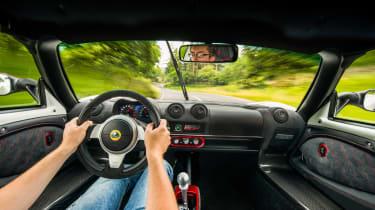 Lotus Exige 380 Cup - interior