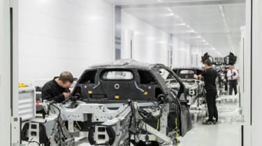 McLaren P1 production started
