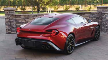 Aston Martin Vanquish Zagato rear
