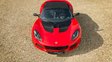 Lotus Elise Sprint top