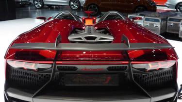 Lamborghini Aventador J rear