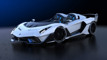 Lamborghini SC20 speedster front