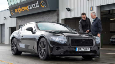 Bentley Continental GT - pre production