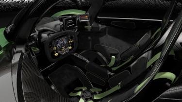 Aston Martin Valkyrie Q by AM - green cabin