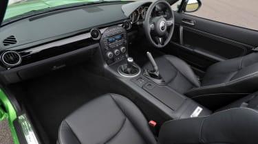 Mazda MX-5 Sport Black interior