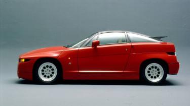Alfa Romeo SZ – side