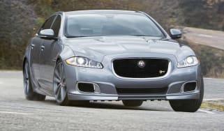 New Jaguar XJR front view