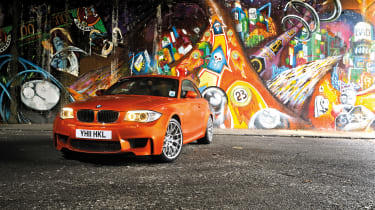 BMW 1-series M Coupe - front three quarter