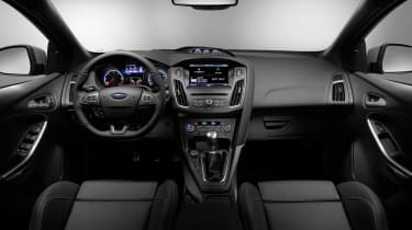 New Ford Focus ST updated dashboard 2014