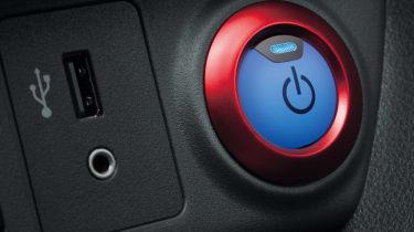 Nissan Leaf Nismo start button