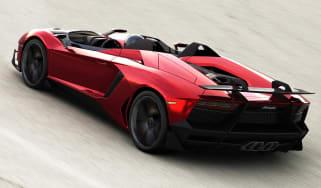Extreme Lamborghini Aventador J