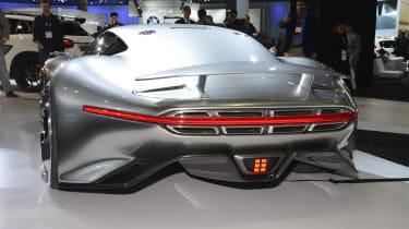 Mercedes AMG Vision rear view