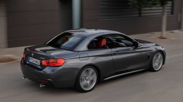 BMW 4 Series Convertible roof up